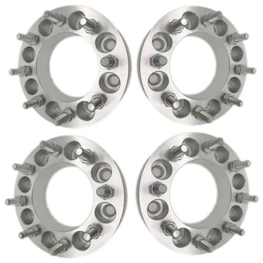 "2 pairs 1.5"" 8X6.5 Wheel Spacers 14x1.5 For 1999 00 01 02 03 04 05 06 07 08 09 2010 Chevy Silverado Suburban GMC Sierra"