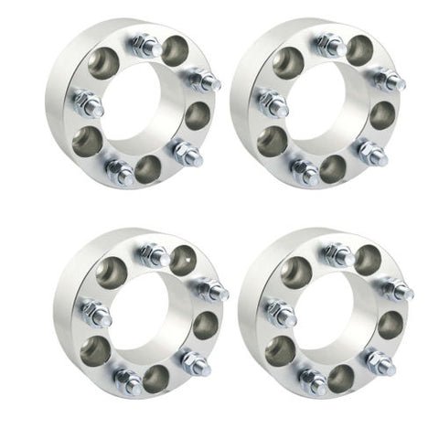 4PCS Ford 5x135 to 5x135 Wheel Spacers Adapters 2 inch thick 14x2 studs F150