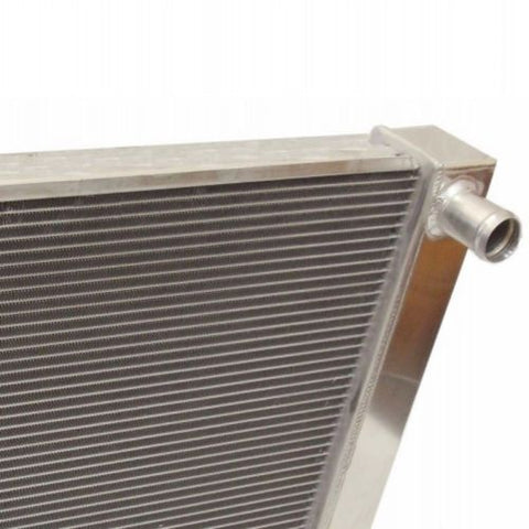 "Universal Ford / Mopar Fabricated Aluminum Radiator 31"" x 19"" x3"" Overall"