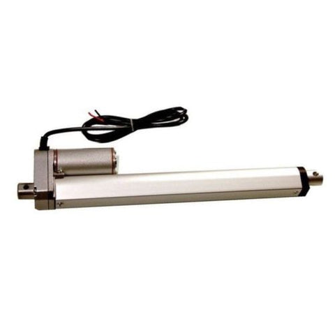 "2 pcs Heavy Duty Linear Actuator 12"" Stroke 225 lb Max Lift Output 12-Volt DC with Mounting Brackets"