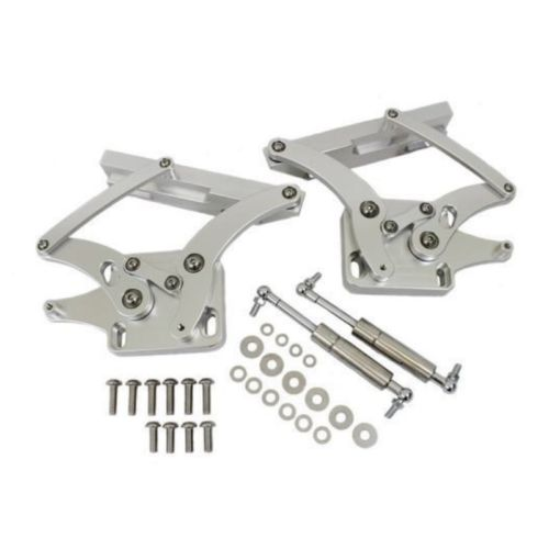 1967 1968 1969 Ford Mustang Billet Hood Hinges Machined Aluminum Hood Hinges