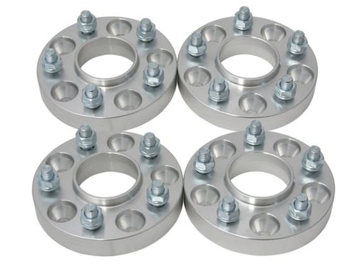 "4pcs HUBCENTRIC 5x4.5 to 5x5 Wheel Adapters Spacers 1.25"" Fit for JEEP JK ON TJ YJ"