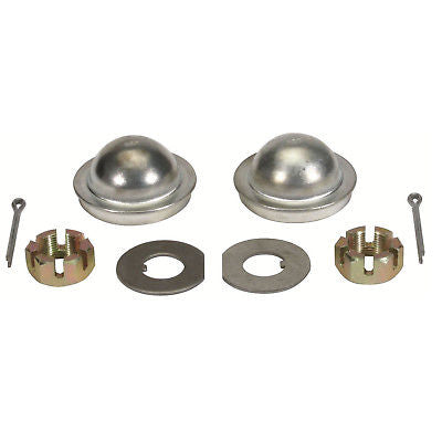 Brake Dust Cap Kit Steel - Fits 1.75in GM Models