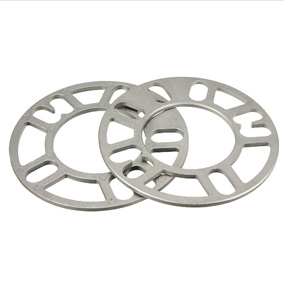 Cast Aluminum Wheel Spacers 5mm Thick 1/2 studs ID 70mm OD 151mm