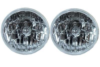 "For Chevy Impala Chevelle 5"" Clear Headlights H4 Bright"