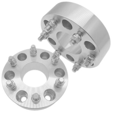 "2 pcs 1"" Wheel Spacers Adapters 6 x5.5 to 6 x 5.5 