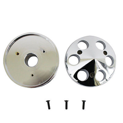 Chrome Aluminum Single Groove Alternator Pulley For SBC Chevy 327 350