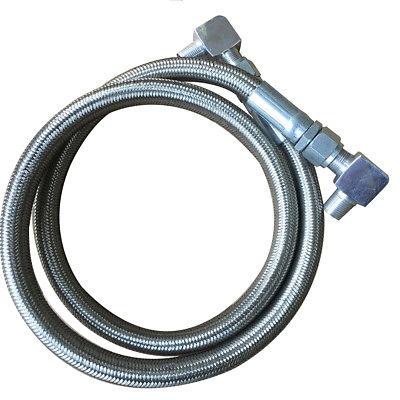 "Braided Transmission Cooler Hose Lines, Including a an Fitting, 24"" L"