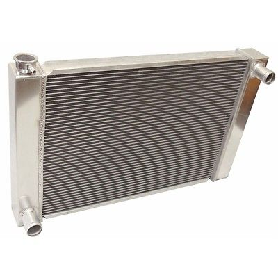 "For Ford /Mopar Fabricated Aluminum Radiator 26"" x 19"" x3"" Overall"