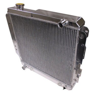 3 ROW ALUMINUM RACING RADIATOR for 87-06 JEEP WRANGLER YJ/TJ 2.4L-4.2L