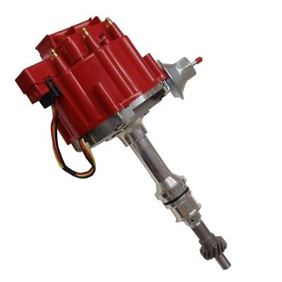 For BBF Ford 351C 429 V8 Coil Hei Distributor 50,000 50k Volt w/ Red Cap