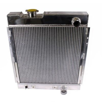 Fit 64-66 Mustang V8 I6 Mt Tri Core Full Aluminum Race 3-Row Cooling Radiator