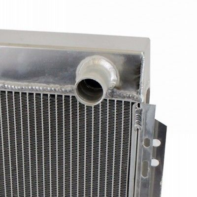 2 Row Aluminum Radiator For 1964-1966 FORD MUSTANG V8 260 289 AT MT 1965 64 65 66