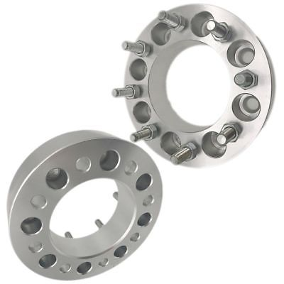 "2pcs 1.25"" Thickness 8x6.5"" To 8x6.5"" Wheel Spacers Adapters 8 Lug for Dodge Ram Ford F-250 F-350"