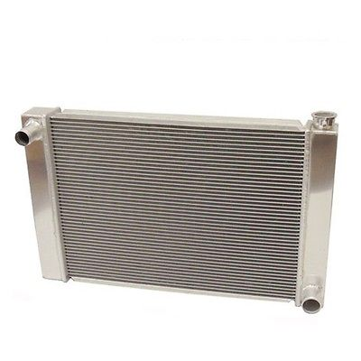 "Fabricated Aluminum Radiator 31"" x 19"" x3"" Overall For SBC BBC Chevy GM"