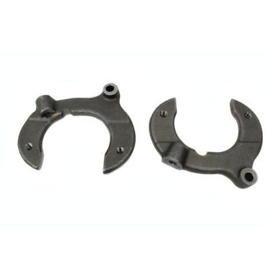 2 FORGED STEEL CALIPER BRACKETS FOR PAIR FORD MUSTANG 2 II STREET ROD KIT CAR
