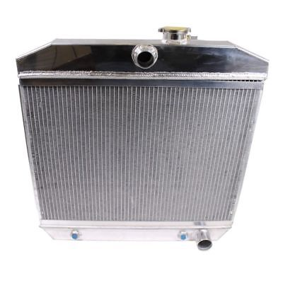 For 55-57 CHEVY SMALL BLOCK 150/210 SBC V8 3-ROW/TRI-CORE ALUMINUM RADIATOR