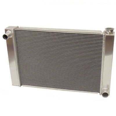 "Fabricated Aluminum Radiator 30"" x 19"" x3"" Overall For SBC BBC Chevy GM"