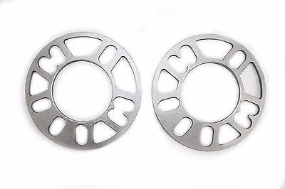 Cast Aluminum Wheel Spacers 8mm Thick 1/2 studs ID 90mm OD 164mm