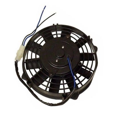 "8"" Straight Blade Electric Radiator Cooling Fan 12v with Thermostat Kit"
