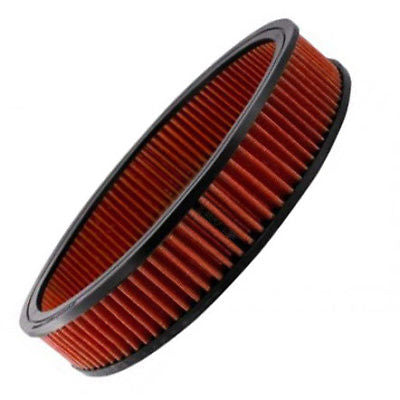 "Reusable Filter Element For 14""x3"" High Flow Oil Type Washable Air Cleaner"