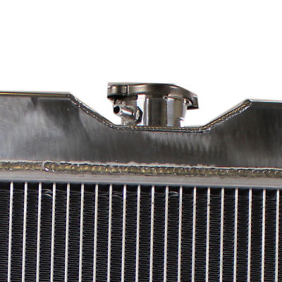 3 ROW / TRI-CORE FULL ALUMINUM RADIATOR FOR 67-70 FORD MUSTANG/COUGAR XR-7 V8