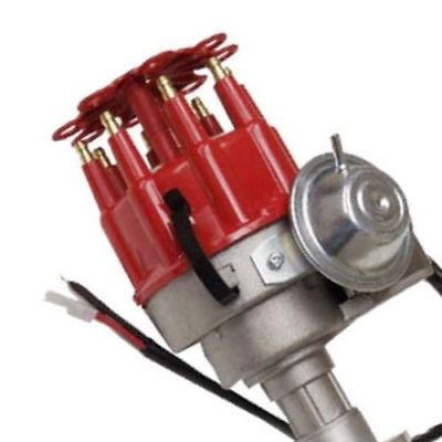 For Big Block Mopar Dodge Plymouth 413 440 Complete Electronic Distributor Red Cap