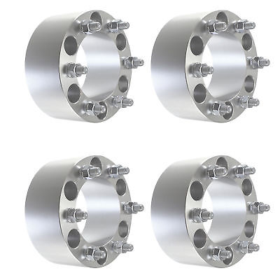 "4 pcs 3"" Chevy 6 Lug Wheel Spacers 6x139.7 Fits Silverado 1500 Tahoe Suburban"