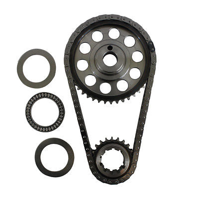 Ford 429 460 Double Roller 9 Keyway Billet Steel Timing Chain Kit (Tor/Brg)