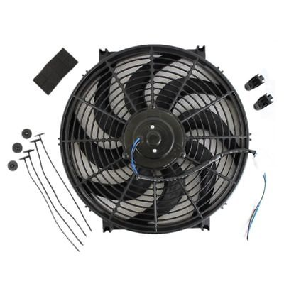 Heavy Duty Electric Wide Curved Blade FAN 2000CFM Reversible /Thermostat Kit