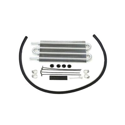 "16"" Heavy Duty Radiator Electric Wide Curved Blade Fan & 12-3/4"" X 5"" X 3/4"" Transmission Oil Cooler"