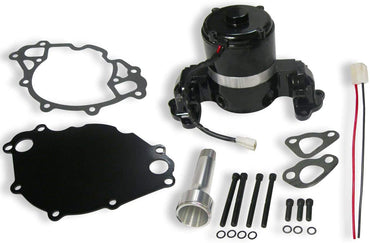 Aluminum Electric Water Pump Black Powder Coating for SBF 289 302 351W with Plate