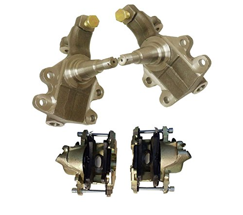 "GM Drop 2"",A,F,X,Chevelle,Camaro, Nova, Disc Brake Spindles&Front Caliper 10mm"