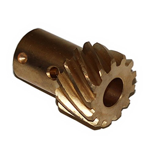 "Bronze Distributor Gear For Chevy V6, V8 0.491"" Shaft Reverse Rotation"