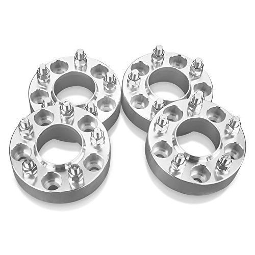 "4pcs 1"" (25mm) Hubcentric 5x100 Hubcentric Wheel Spacers 56.1mm Bore Fits Scion FRS FR-S Subaru WRX Impreza 12x1.25 Studs"
