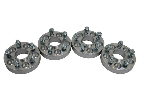 4 pcs For Subaru Hubcentric 1'' 5x100 12x1.25 Studs 56.1mm Hub Wheel Spacers