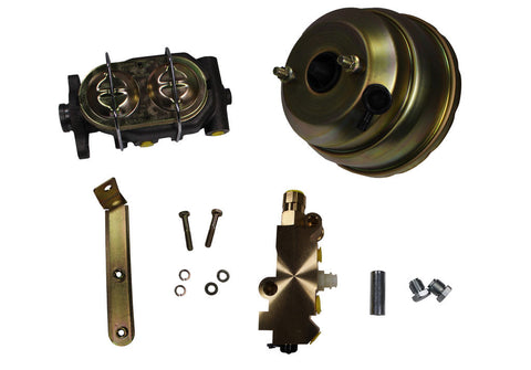 1960-1966 Chevrolet c10 gmc truck brake booster and master cylinder disc drum