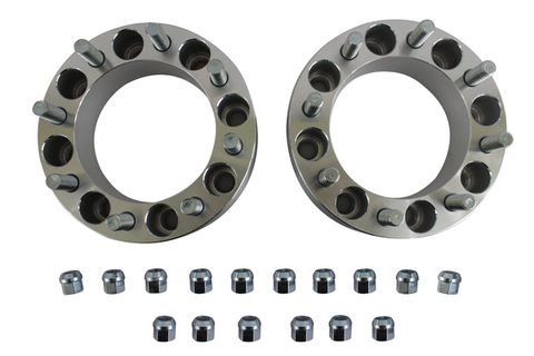 "2 Pcs 1""(25mm) Wheel Spacers 8X6.5 to 8X6.5 (8x165.1) 14X1.5 Studs Chevy GMC"