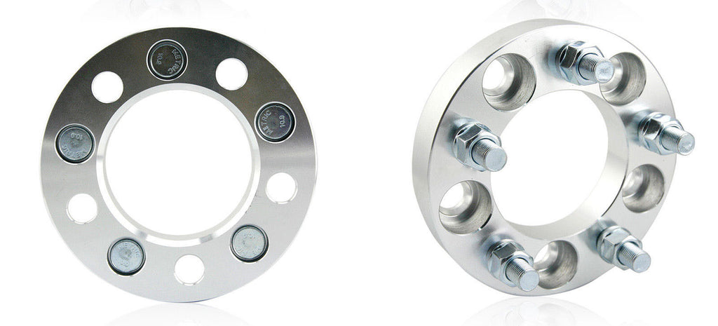 "2pcs 1"" Wheel Spacers Adapters 5x4.5"" 
