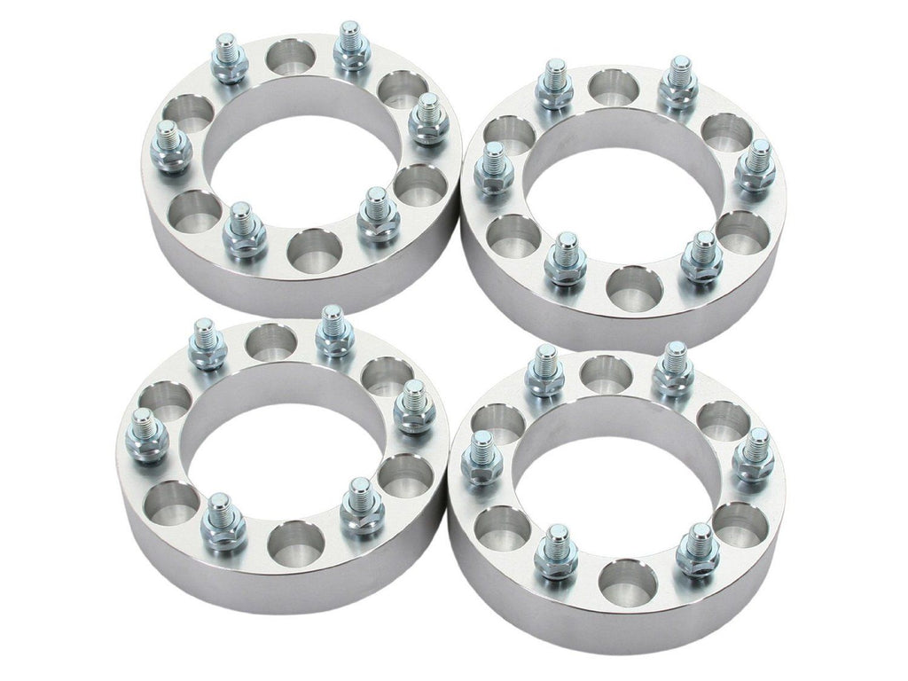 "4 pcs 1"" Wheel Spacers Adapters 6 x5.5 to 6 x 5.5 