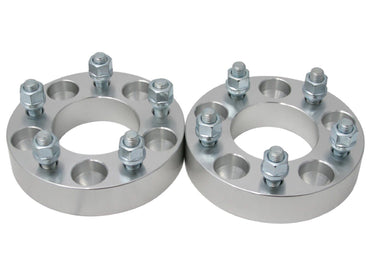 "2 pc 1.5"" 5x5.5 to 5x5 Wheel Spacers Adapters For Dodge KIA Ford 1/2""x20 Studs"