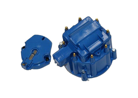HEI Distributor Blue Cap For SBC BBC Chevy HEI V8 50K 65K Distributor