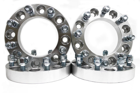 "4PCS | 2"" INCH 8X6.5 TO 8x6.5 WHEEL SPACERS 9/16 