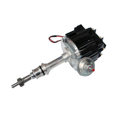 For SBF Ford 260 289 302 V8 Coil Hei Distributor 50000 50K Volt w/ Black Cap