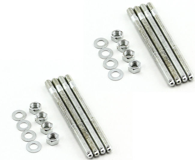 "Carburetor Carb Stud Kit 5/16"" X 3.825, 8 Studs,Nuts And Washers"