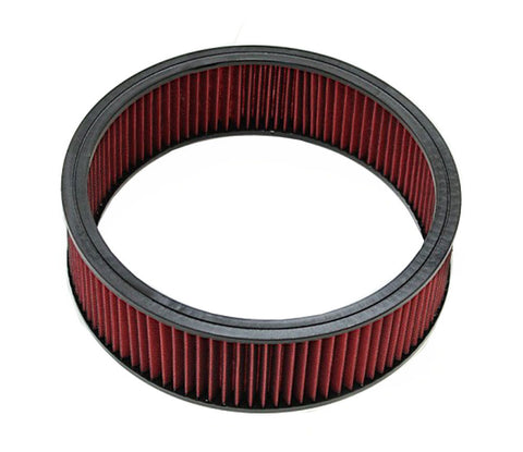 "Reusable Filter Element For 14""x4"" High Flow Oil Type Washable Air Cleaner"