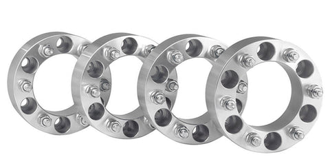 "4PCS 6 lug Ford F150 Wheel Spacers 6x135 to 6x135 14x2 studs 2"" inch"