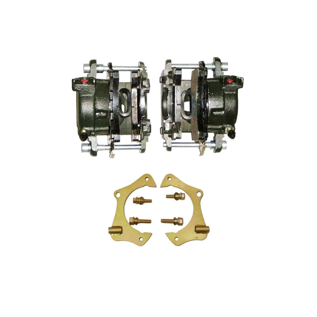 "GM Metric for 10mm Front Disc Conversions Front DISC Brake Caliper & 11"" Caliper Bracket Kit"