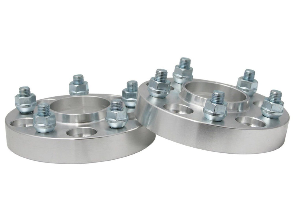 2PCS WHEEL SPACERS 5x4.5 to 5x5 1 INCH ADAPTS JEEP JK WHEELS ON TJ YJ HUBCENTRIC