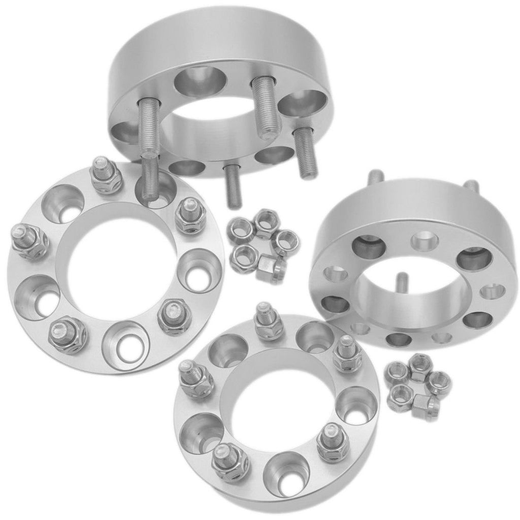 "4pcs Wheel Spacers 1.25"" Adapter 5x4.75 For Chevy Corvette Camaro Blazer S10"